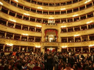 interno teatro alla scala