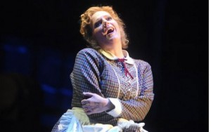 Eva-Maria Westbroeck è Minnie in La Fanciulla del West