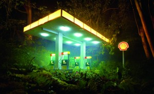 David LaChapelle Gas Shell, 2012 © David LaChapelle Studio, courtesy Jablonka Maruani Mercier Gallery ·