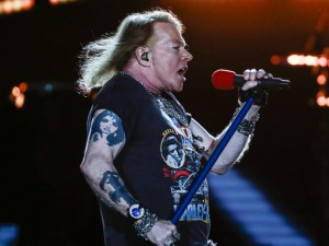 Axl Rose leader dei Guns n' Roses