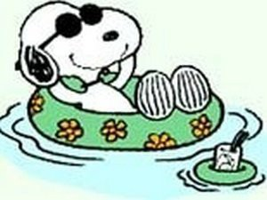 Snoopy_on_the_beach