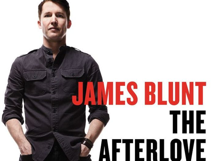 James Blunt La copertina dell'album The Afterlove