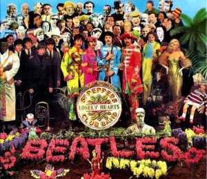 copertina di Sgt. Peppers Lonely Heart