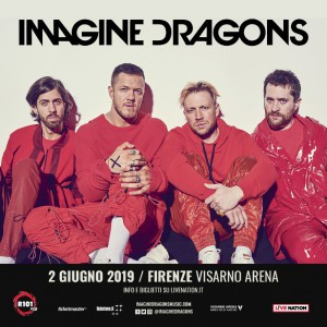 magine Dragons a Firenze l'unica data italiana